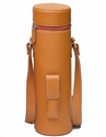 "Primeware ""Enclave"" Brown Leather 1-Bottle Wine Tote"