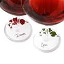 True Fabrications Wine Glass Tags (Set of 24)