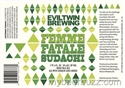 Evil Twin Brewing Femme Fatale Sudachi India Pale Ale (22.4 oz)