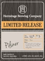 Hermitage Brewing Limited Release Dry Hopped Pilsner (500 ml)