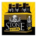 "Stone Brewing ""Go To"" IPA (12oz 6-PACK)"