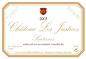 Chateau Les Justices Sauternes 2008 [375 ml HALF-BOTTLE] (Sauternes, France)