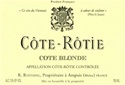 "Rene Rostaing Cote Rotie ""Cote Blonde"" 2016 (Northern Rhone, France) - [RP 98] [VM 95-97]"
