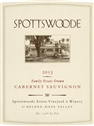 Spottswoode Estate Cabernet Sauvignon 2014 (St. Helena, Napa Valley, California) - [WE 98] [DM 97] [RP 96+] [JS 96, #77 Top 100 Domestic of 2017] [AG 96]