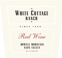 [TWO-PACK COMBO: Buy One (1) Bottle Get 2nd Bottle for $0.01 Cent] White Cottage Ranch Howell Mountain Red 2007 (Howell Mountain, Napa Valley, California)